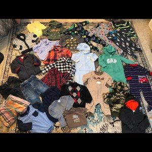 Lot of Baby Boy Clothes Size 12 and 12-18 Months